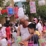 lễ hội đèn lồng handmade