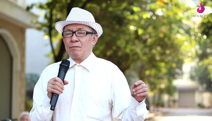 Cụ ông Hoàng Văn Hoằng 70 tuổi